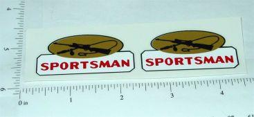 Tonka Sportsman Truck Topper Stickers Main Image
