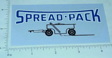 Tonka Spread Pack Replacement Sticker Main Image