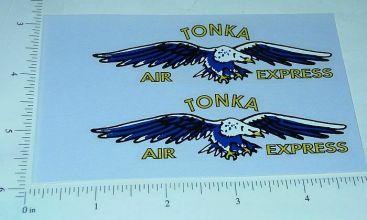 Tonka Air Express Box Van Sticker Set Main Image