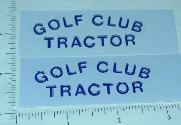 Tonka Golf Club Tractor Sticker Set Main Image
