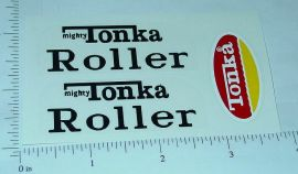 Mighty Tonka Roller Sticker Set