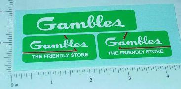 Tonka Gambles Stores Pickup Stickers Main Image