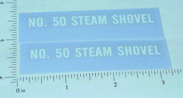 Tonka 49-53 #50 Steam Shovel Sticker Set Main Image