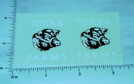 Tonka 1962 to 69 Farms Stake Truck Stickers