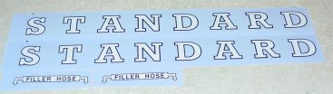 Tonka Standard Oil Tanker Semi Sticker Set Main Image