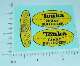 Tonka Giant Bulldozer Sticker Set