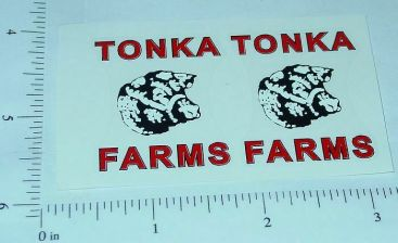 Tonka 58 to 61 Farms Stake Truck Stickers Main Image