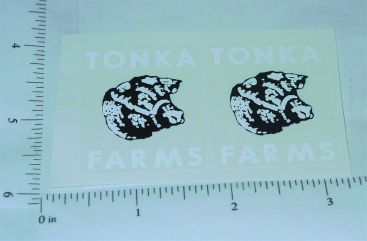 Tonka 1960 Farms Stake Truck Stickers Main Image