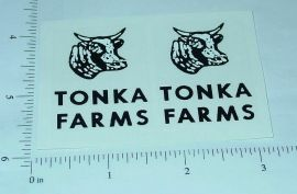 Tonka 56/57 Farms Stake Truck Stickers