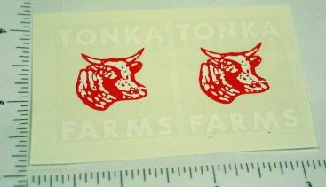 Tonka 57/58 Farms Stake Truck Stickers Main Image