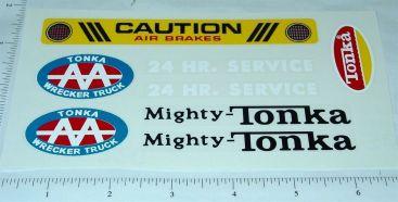 Mighty Tonka AA Wrecker Sticker Set Main Image
