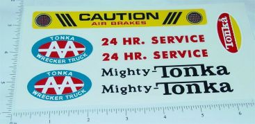 Mighty Tonka AA Wrecker Sticker Set Main Image