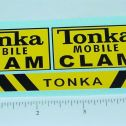 Tonka Mobile Clam (Post 1964) Stickers Main Image