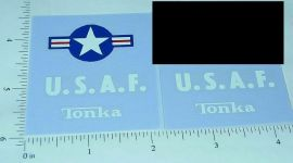 Tonka US Air Force Jeep/Truck Stickers