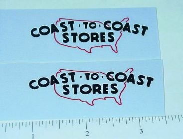 Tonka Coast to Coast Hardware Utility Stickers Main Image