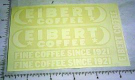 Tonka Eibert Coffee Metro Van Sticker Set