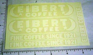 Tonka Eibert Coffee Metro Van Sticker Set Main Image