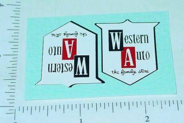 Tonka Western Auto Pickup Truck Stickers Main Image