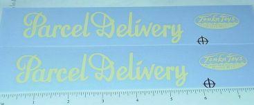 Tonka Parcel Delivery Metro Van Sticker Set Main Image