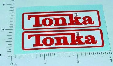 Tonka Recent Rectangle Logo Stickers Main Image