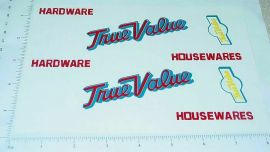 Tonka True Value Hardware Box Van Sticker Set