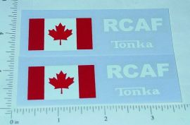 Tonka Royal Canadian Air Force Jeep Stickers