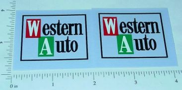Tonka New Style Western Auto Truck Stickers Main Image