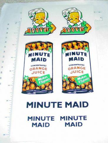Tonka Minute Maid Orange Juice Box Van Stickers Main Image