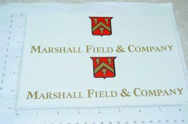 Tonka Marshall Fields Co. Semi Truck Stickers Main Image