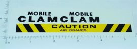 Tonka Mobile Clam (63 & Older) Stickers