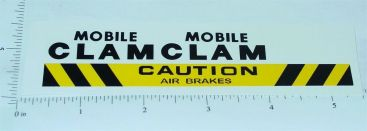 Tonka Mobile Clam (63 & Older) Stickers Main Image