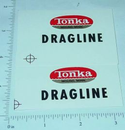 Tonka Dragline (Post 1962) Stickers