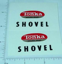 Tonka Shovel (Post 1962) Stickers