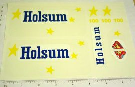 Tonka Holsum Bread Metro Van Sticker Set