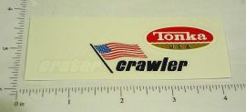 Mighty Tonka Crater Crawler Vehicle Stickers