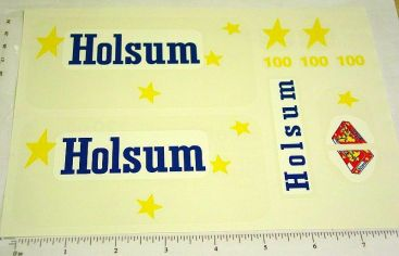 Tonka Holsum Bread Metro Van Sticker Set Main Image