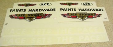 Tonka Ace Hardware Semi Truck Stickers Main Image