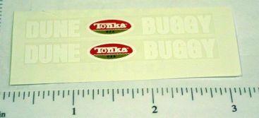 Tonka Mighty Dune Buggy Hood Stickers Main Image