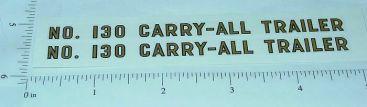Tonka #130 Carry-All Trailer Sticker Set Main Image