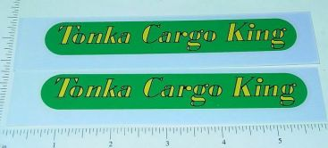Pair Tonka Cargo King Grain Semi Trailer Stickers Main Image