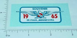 Tonka 1965 St. Paul Souvenir Jeep Hood Sticker