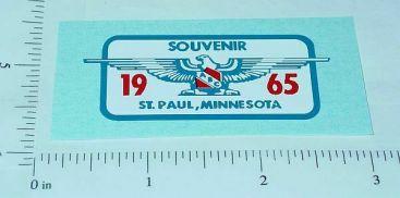 Tonka 1965 St. Paul Souvenir Jeep Hood Sticker Main Image