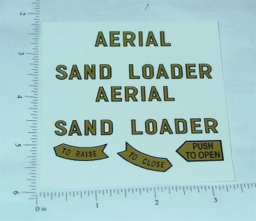 Tonka Aerial Sandloader Construction Toy Stickers Main Image