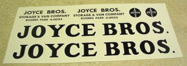 Tonka Joyce Brothers Allied Van Lines Stickers Main Image