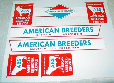Tonka American Breeders Semi Truck Sticker Set Main Image