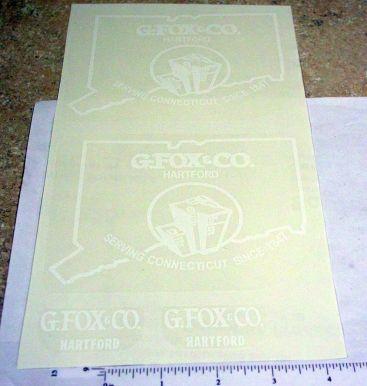 Tonka G Fox & Co. Semi Truck Sticker Set Main Image