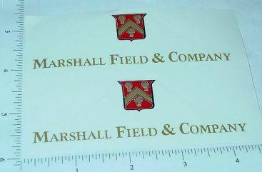 Tonka Marshall Field's Metro Van Sticker Set Main Image