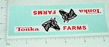 Tonka Horse Farms Truck & Trailer Stickers Main Image