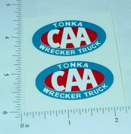 Tonka Canada CAA Towing Service Stickers