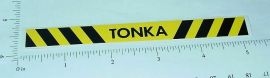 Tonka Construction Vehicle Rear Bumper Sticker